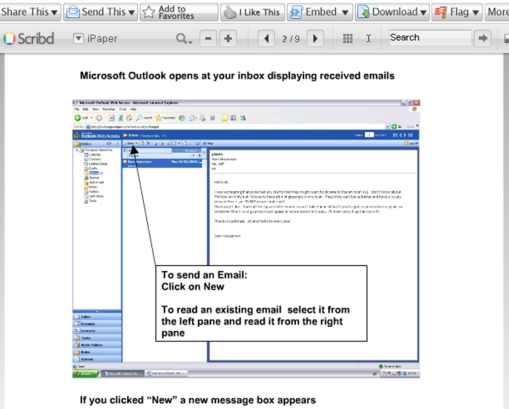 Guide to use Outlook