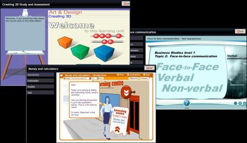 Interactive Materials on NLN